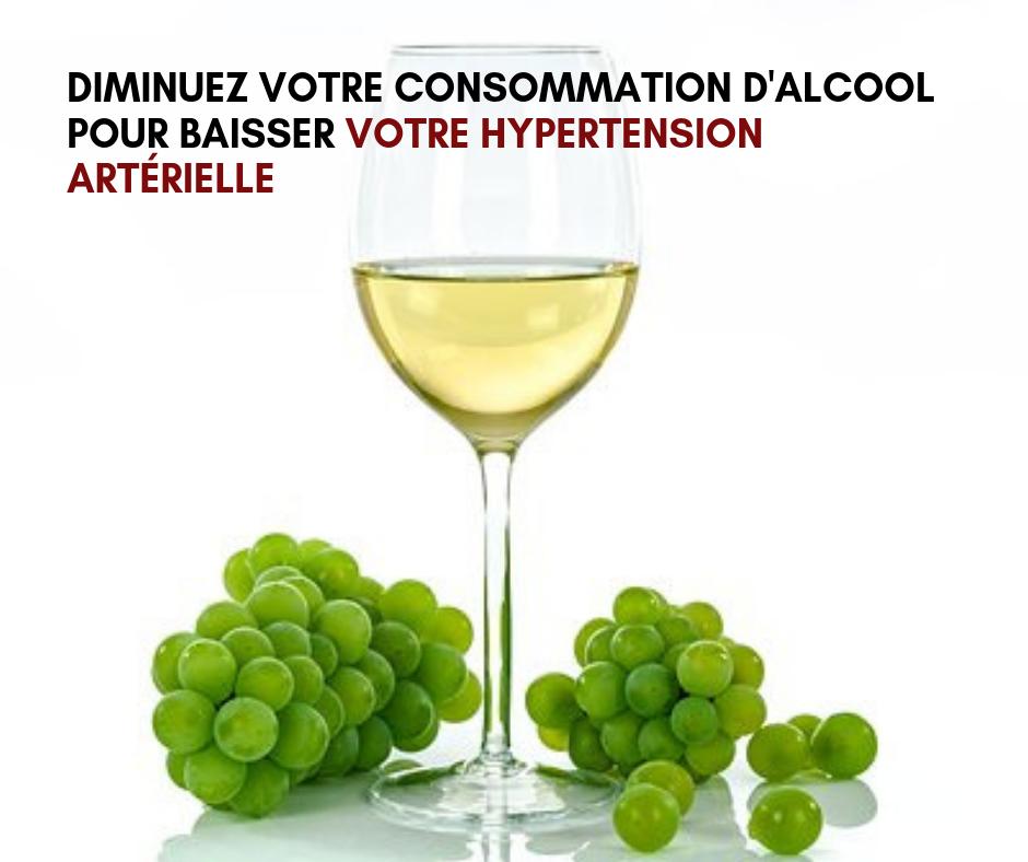 Diminuez votre consommation d'alcool pour baisser votre hypertension artérielle