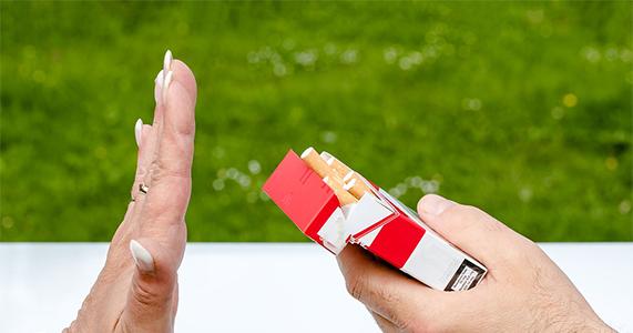 Quel symptôme après l'arrêt du tabac ?